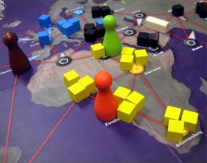Pandemic (image from Chris Norwood on BoardGameGeek)